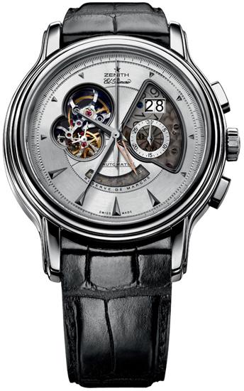 Zenith chronomaster xxt open grande date mens watch