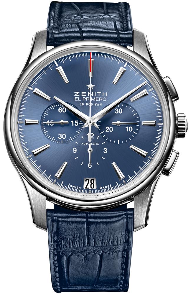 Мужские часы Zenith Archive Captain Chronograph 03.2116.400/51.C700 обзор, отзывы, описание, продажа на Luxwatch.ua