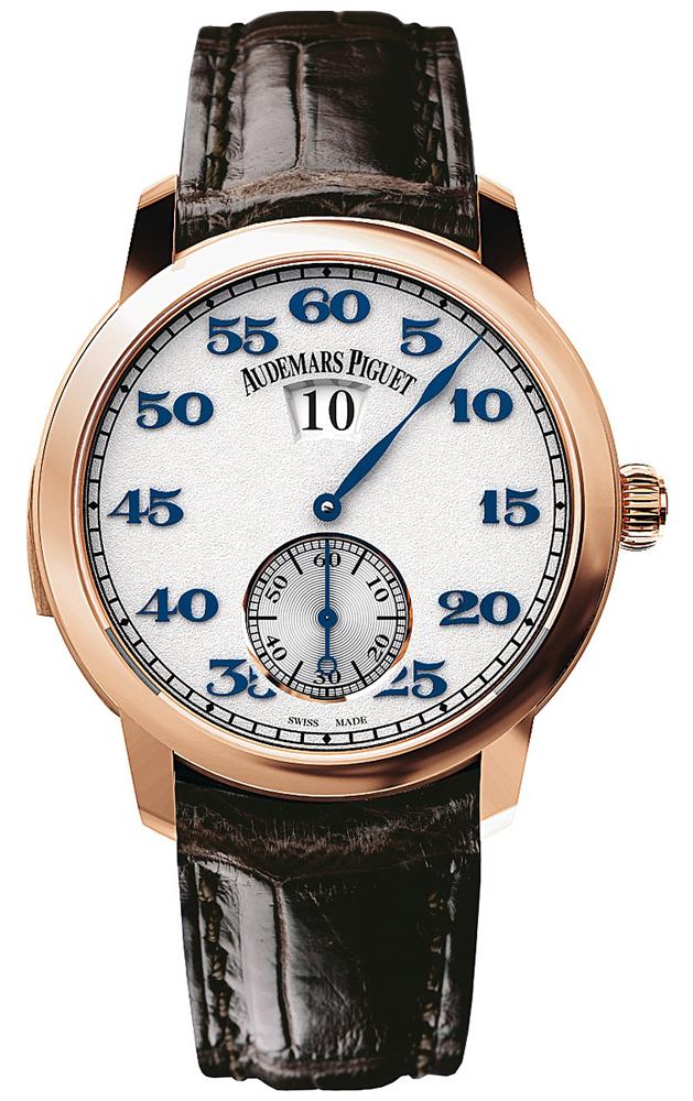Audemars Piguet 26151or.oo.d002cr.01 Jules Audemars Minute Repeater Jumping Hours Mens Watches