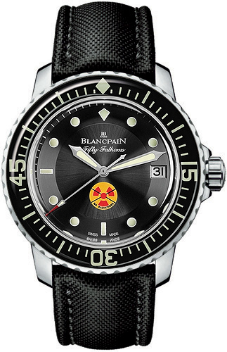 Blancpain 5015b-1130-52a Fifty Fathoms Automatic Mens Watches