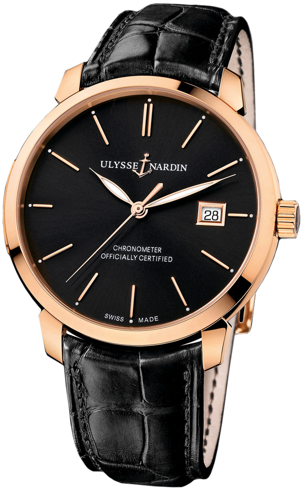 Ulysse Nardin 8156-111-2/92 San Marco Classico Mens Watches
