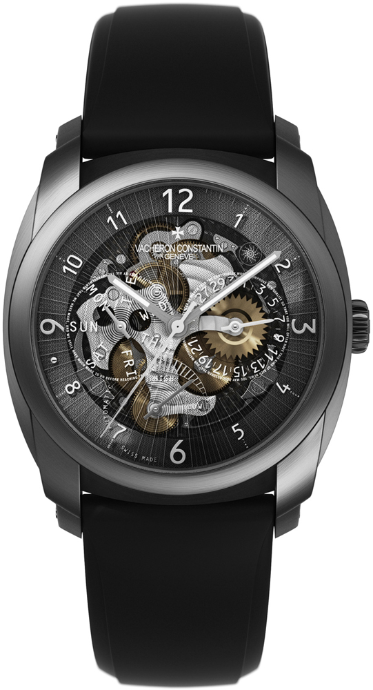 Vacheron Constantin 85050/000t-9341 Quai de l'Ile Day Date & Power Reserve Mens Watches