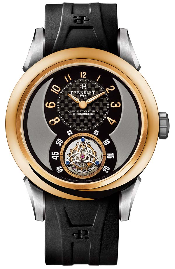 Perrelet A3021/1 Automatic Flying Tourbillon Mens Watches