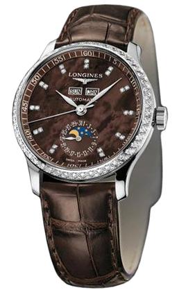 продажа. часы Longines Master Collection Master Calendar Diamonds ref. . L2.503.0.07.3