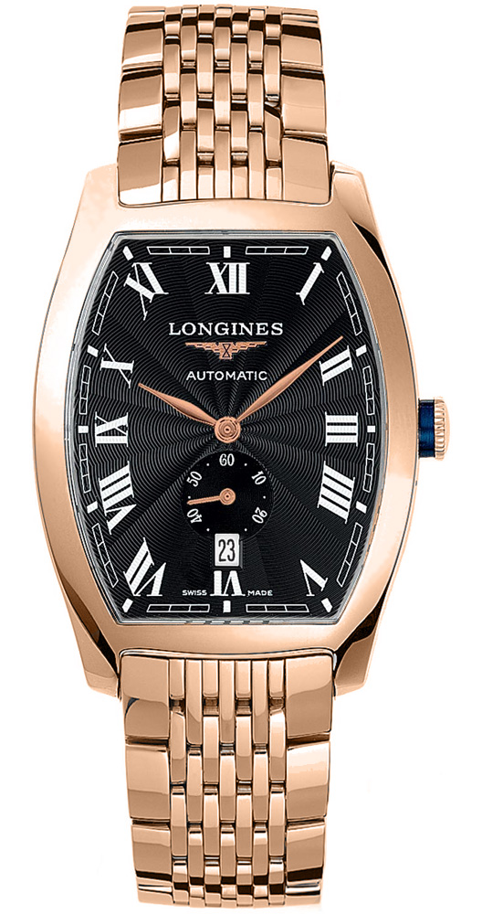Longines L2.642.8.51.6 Evidenza Mens Automatic Mens Watches