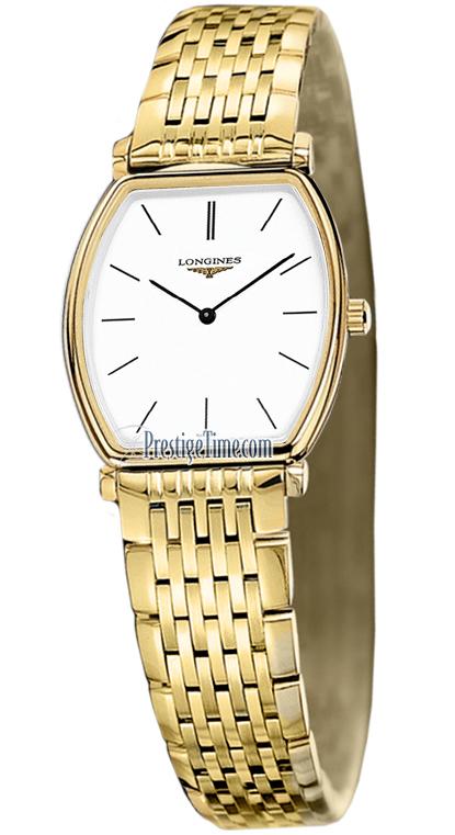 Longines L4.205.2.12.8 La Grande Classique Tonneau - Small Ladies Watches