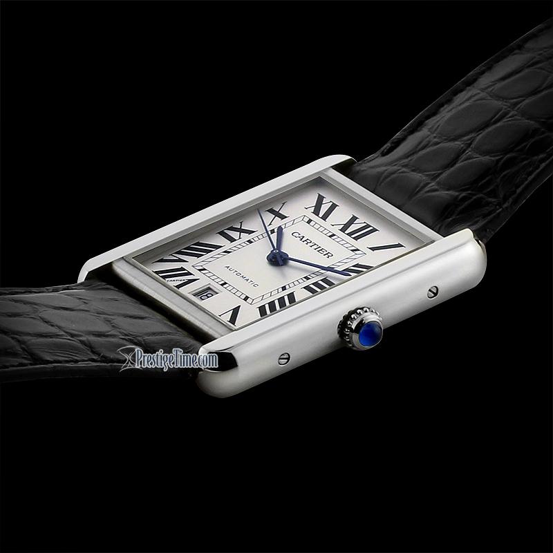 Куплю часы Cartier Tank Solo XL W5200027 в Санкт-Петербурге. Новые или  немного б у (в очень хорошем состоянии). 62586170678