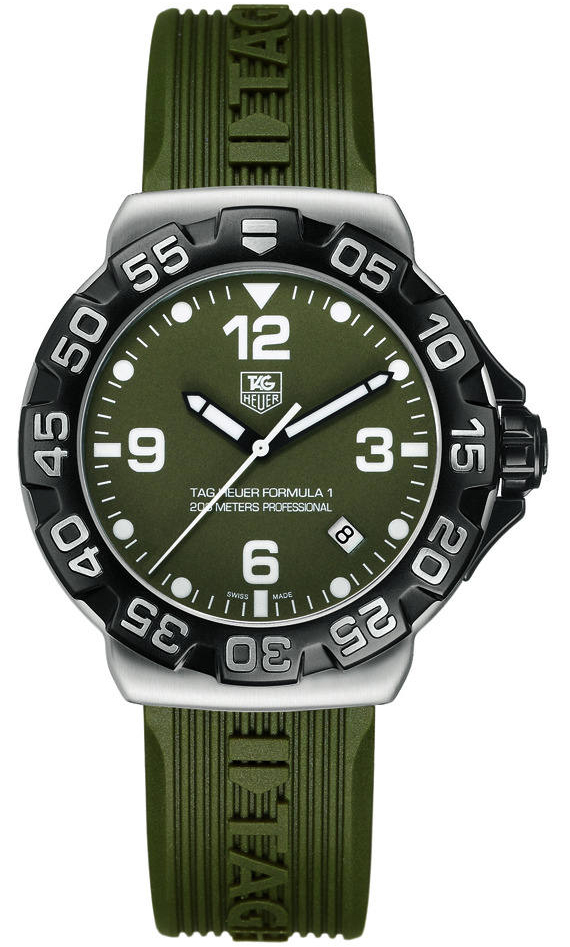 In 1964, the first Tag Heuer