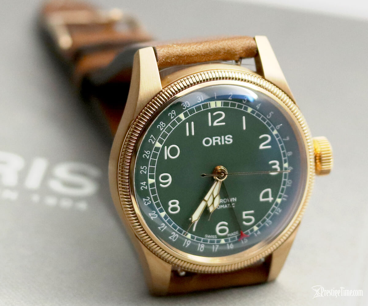 01 754 7741 3167 07 5 20 58BR Oris Big Crown Pointer Date 80th Anniversary Edition Bronze Review