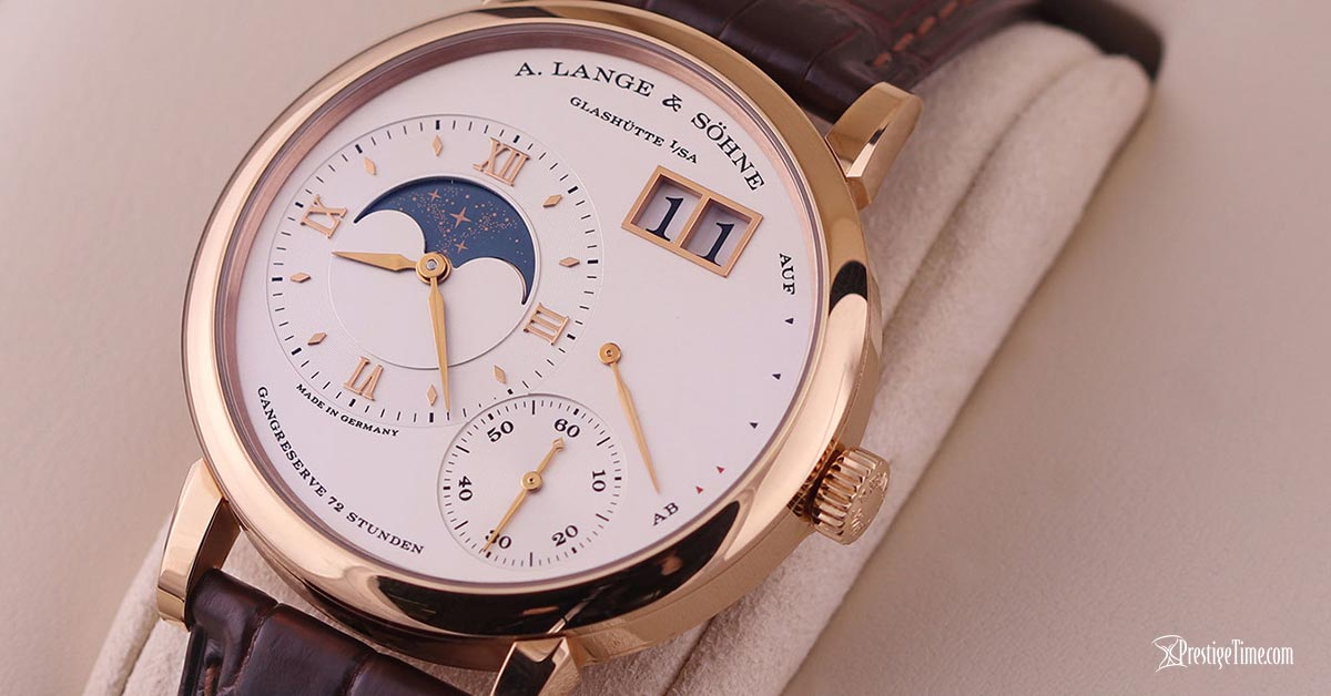 A. Lange & Sohne Grand Lange 1 Moonphase 41mm Review