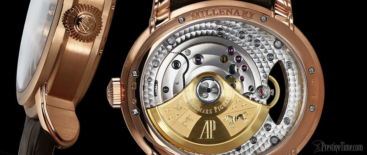 Audemars Piguet Millenary Crown and Caseback