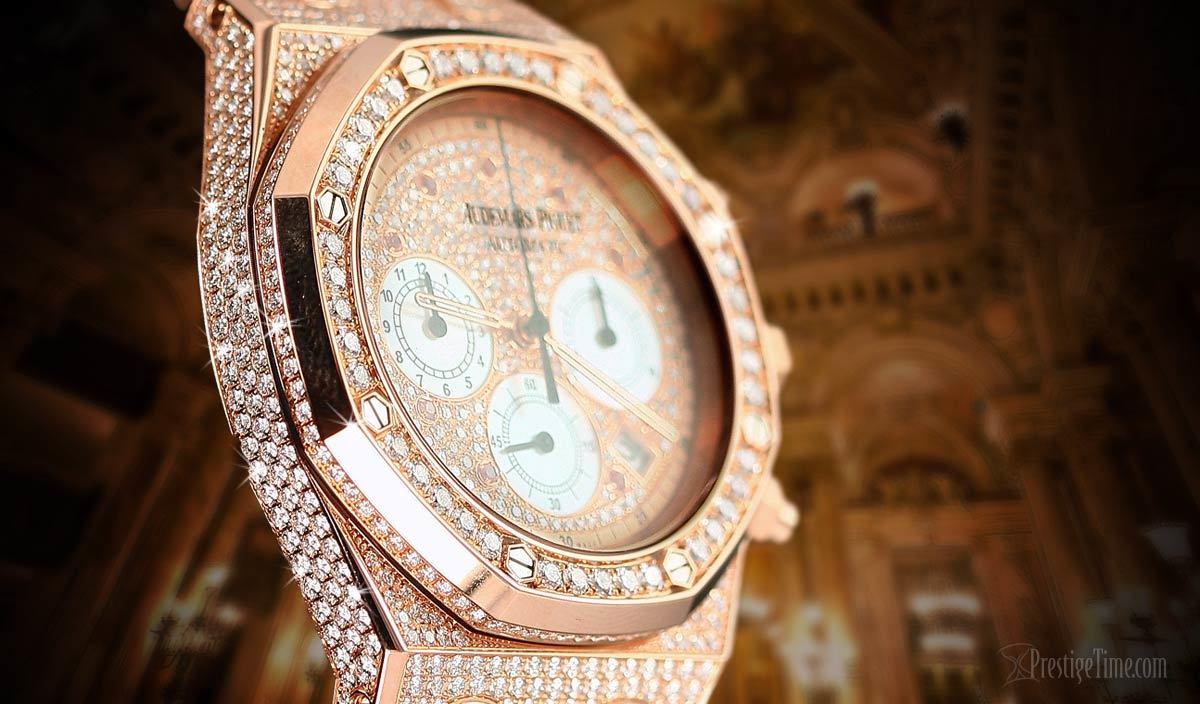 Bring On The Bling Audemars Piguet Royal Oak Chronograph