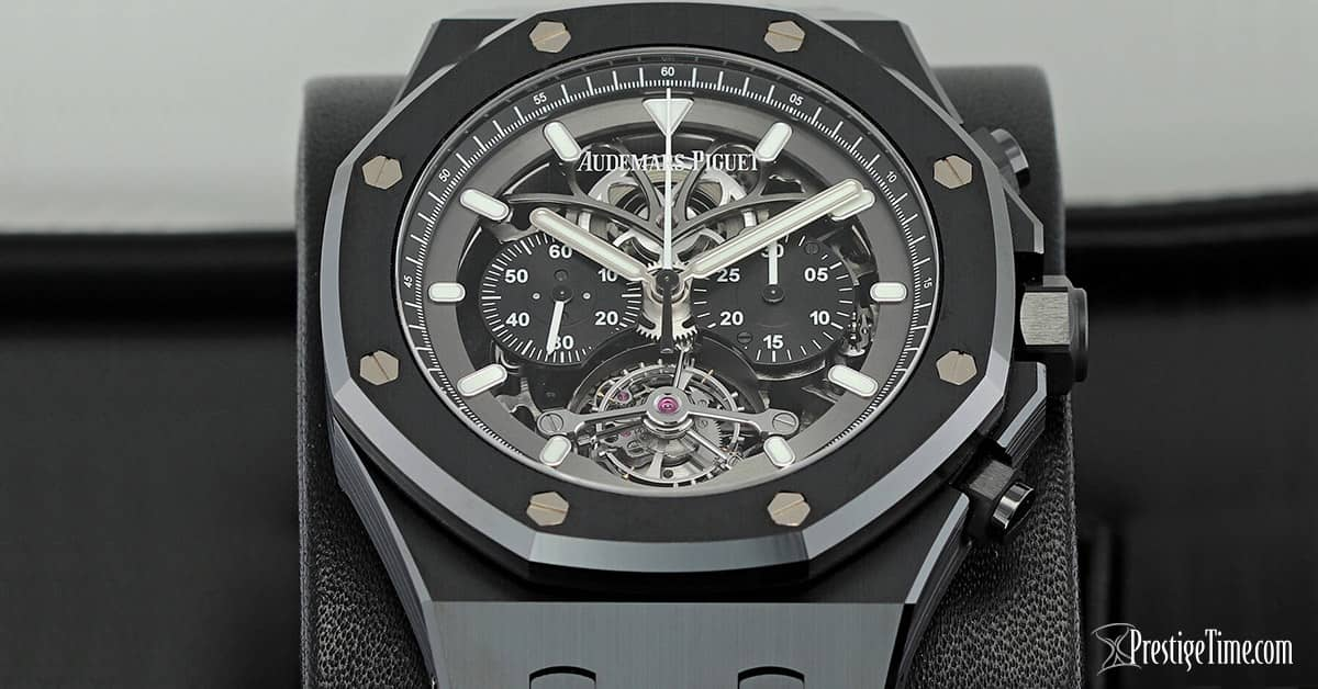Audemars Piguet Royal Oak Tourbillon Chronograph Openworked Review