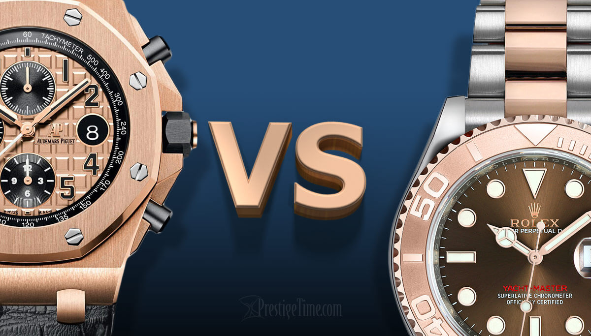 Audemars Piguet VS Rolex: Which is best?