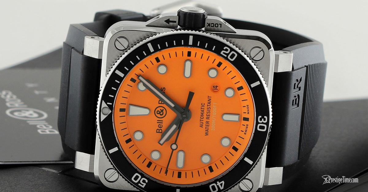 Bell & Ross BR03-92 Automatic 42mm Diver Orange Review