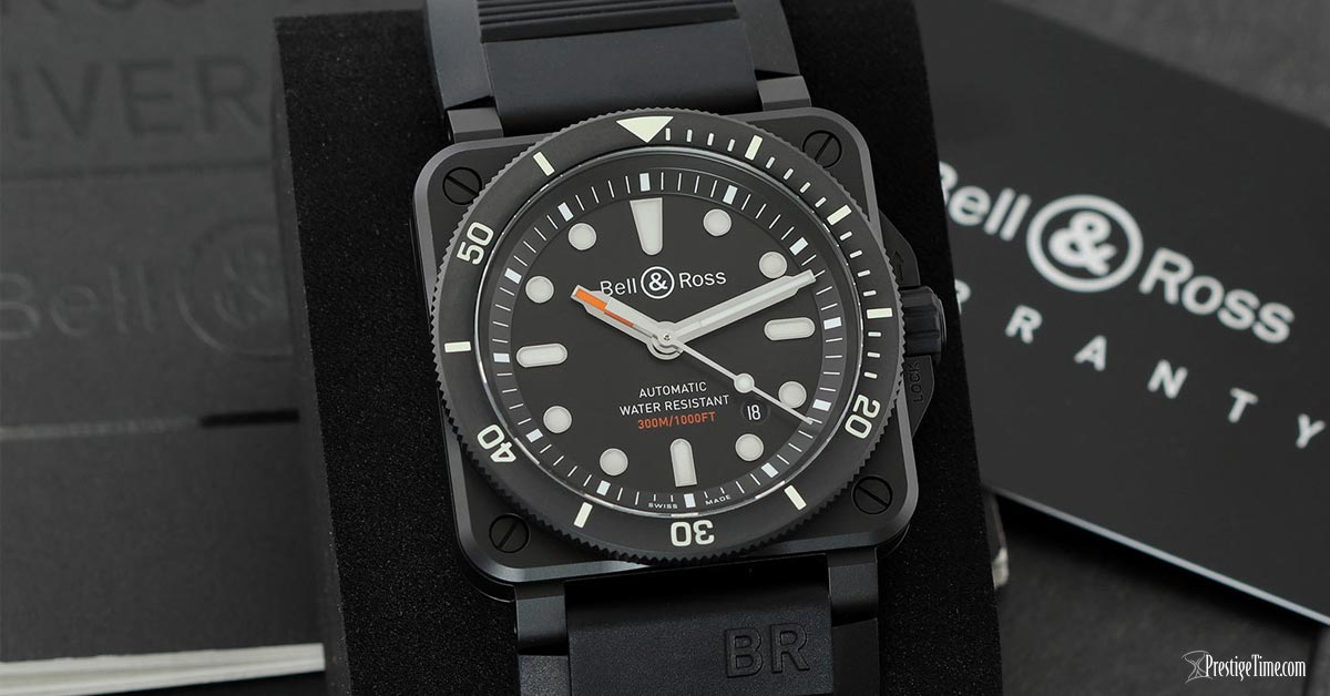 Bell & Ross BR03-92 Diver Ceramic 42mm Review