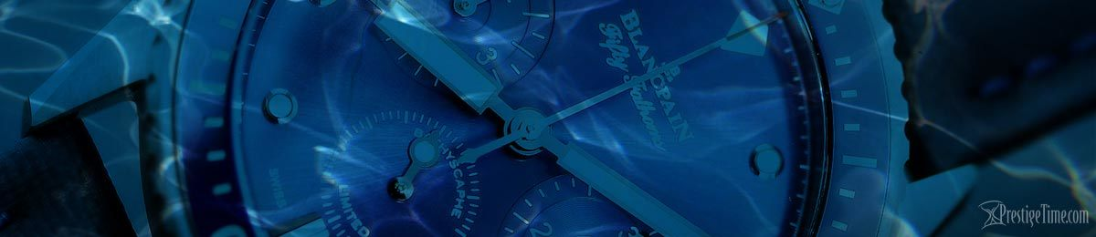 Blancpain Fifty Fathoms Bathyscaphe Blue