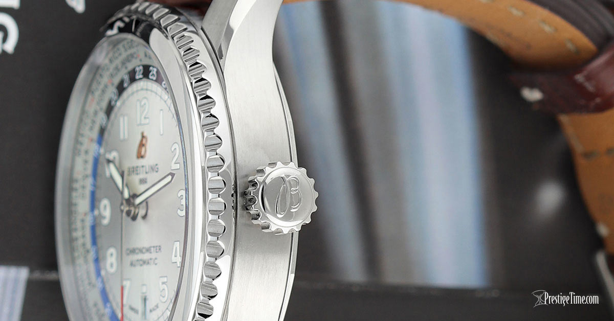 Breitling Aviator 8 B35 Automatic Unitime 43 Review Case Thickness