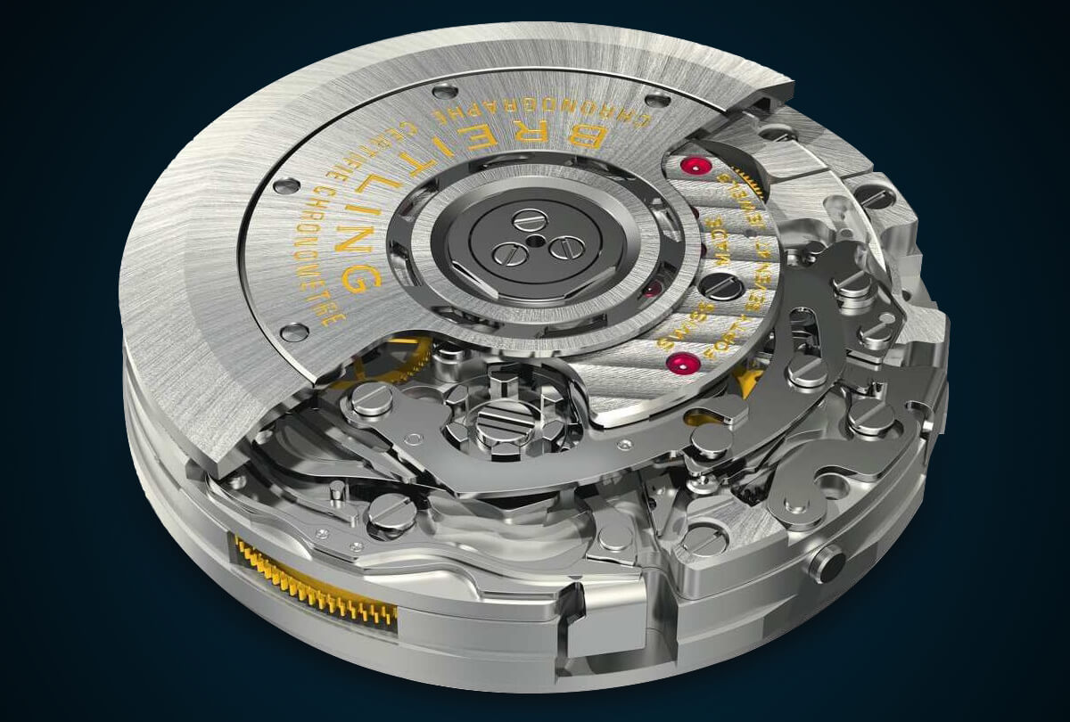 Breitling Caliber B01 Column-Wheel Chronograph
