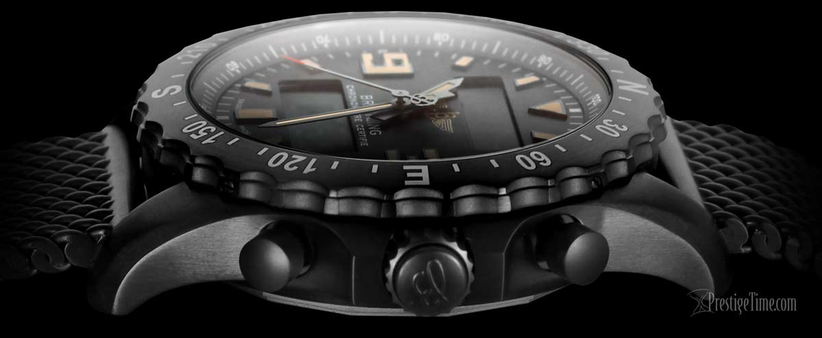 Breitling Chronospace Military Side