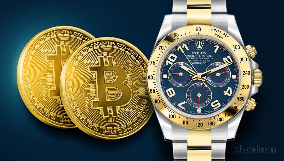 Buy Luxury Watches with Bitcoin or Bitcoin Cash