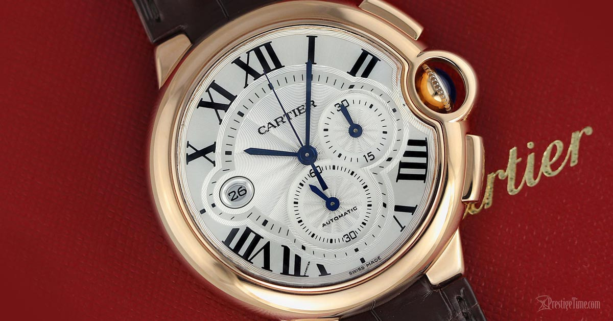 Cartier Ballon Bleu Chronograph Review