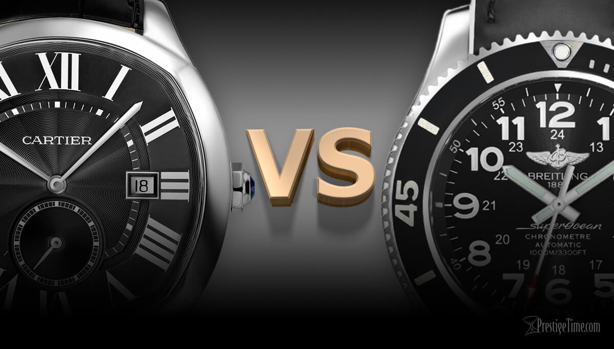 Breitling or Cartier. Which hold value best?