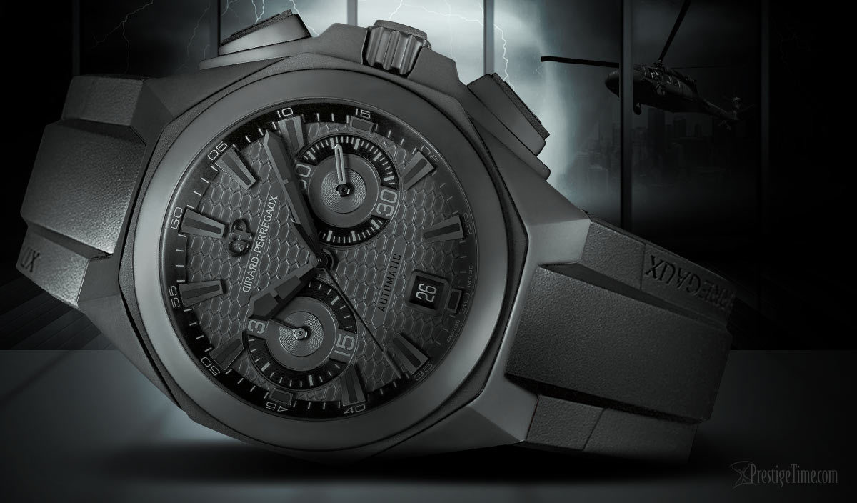 Girard-Perregaux Chrono Hawk: Shadow Hawk Edition