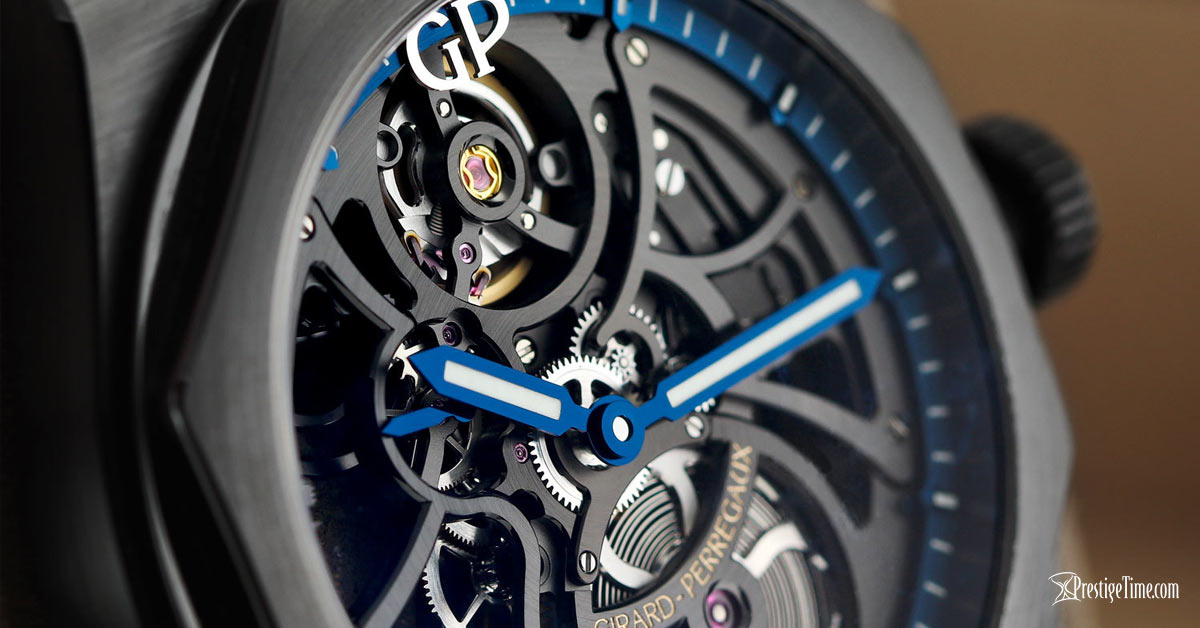 Girard Perregaux Laureato Skeleton Automatic 42mm Hands