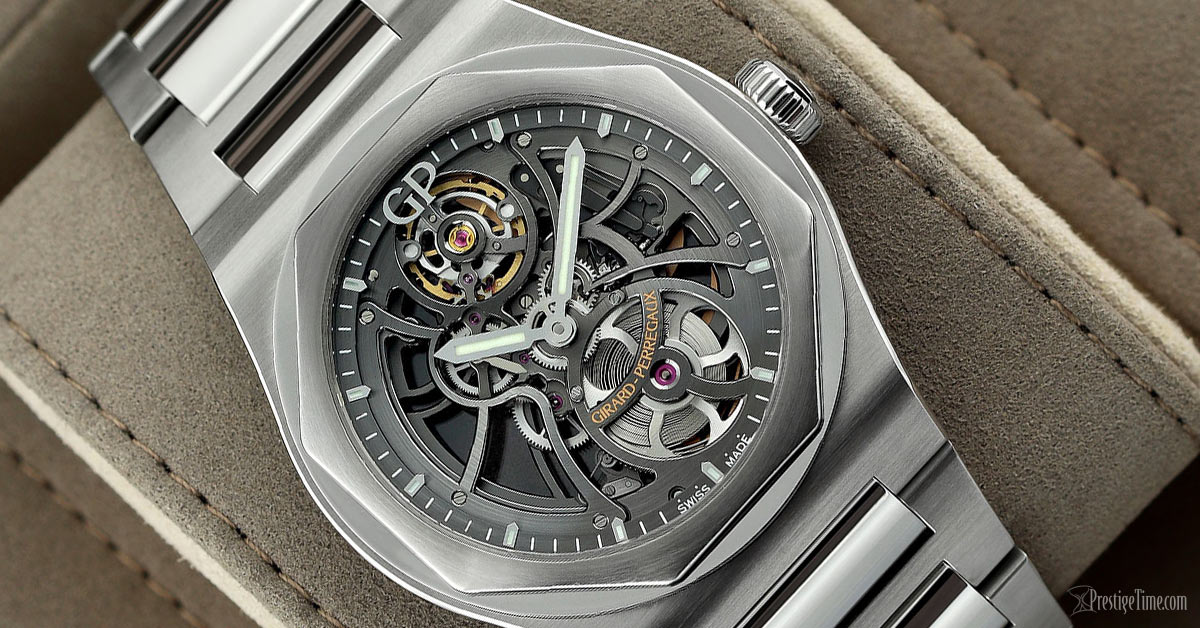 Girard Perregaux Laureato Skeleton Automatic 42mm Review