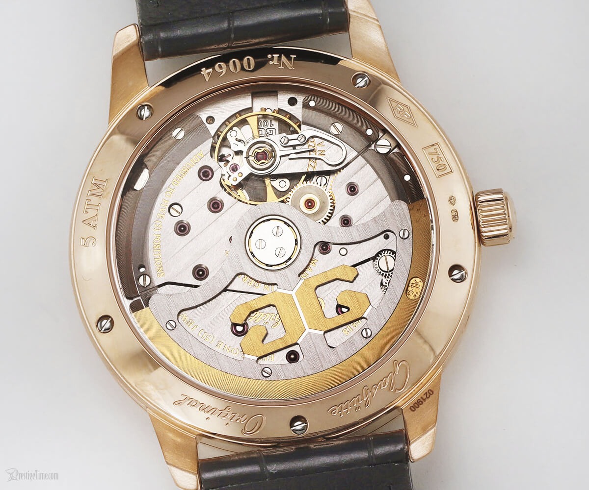 Glashutte Original caliber 100 03 movement