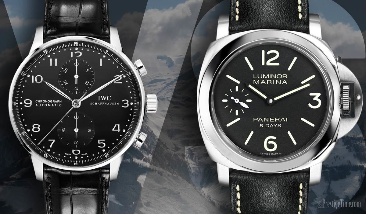 Iwc Portuguese Vs Panerai Luminor