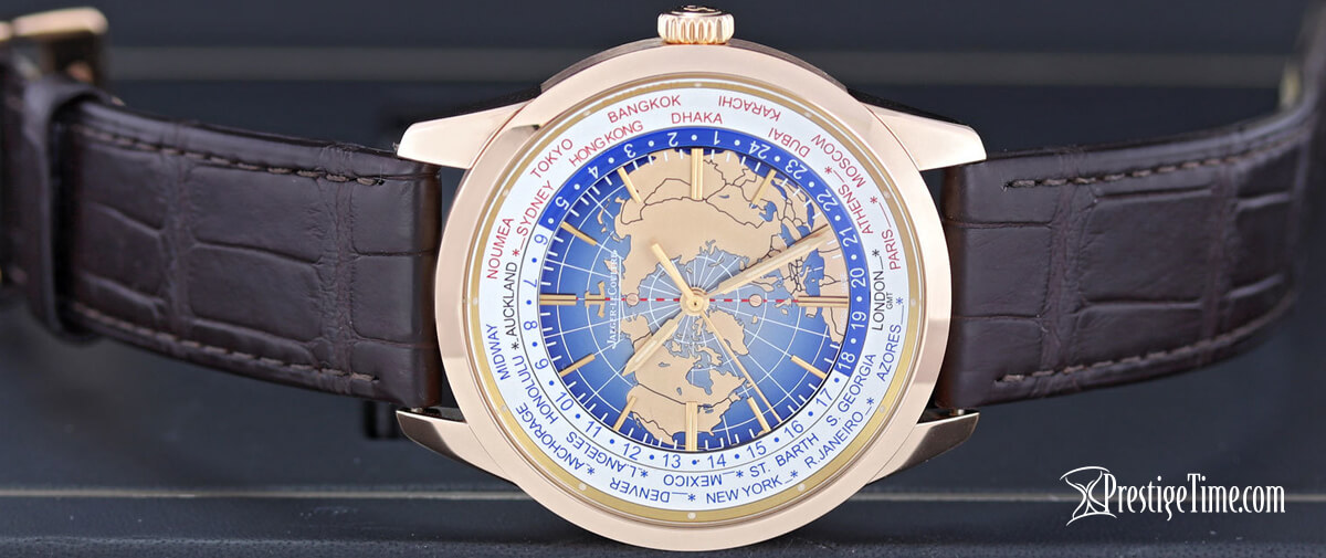 Jaeger LeCoultre Geophysic Universal Time Leather Strap