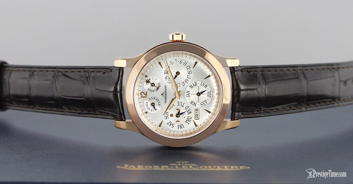 Jaeger LeCoultre Master Eight Days Perpetual 41.5mm