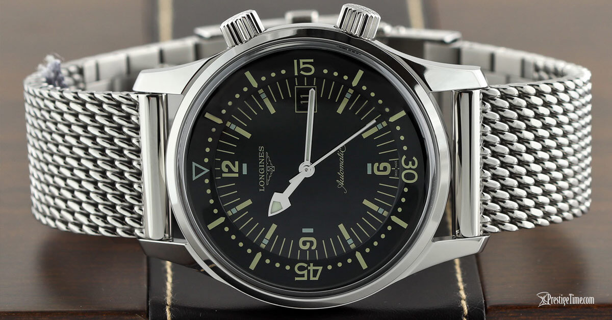 Longines Legend Diver Automatic Steel Bracelet