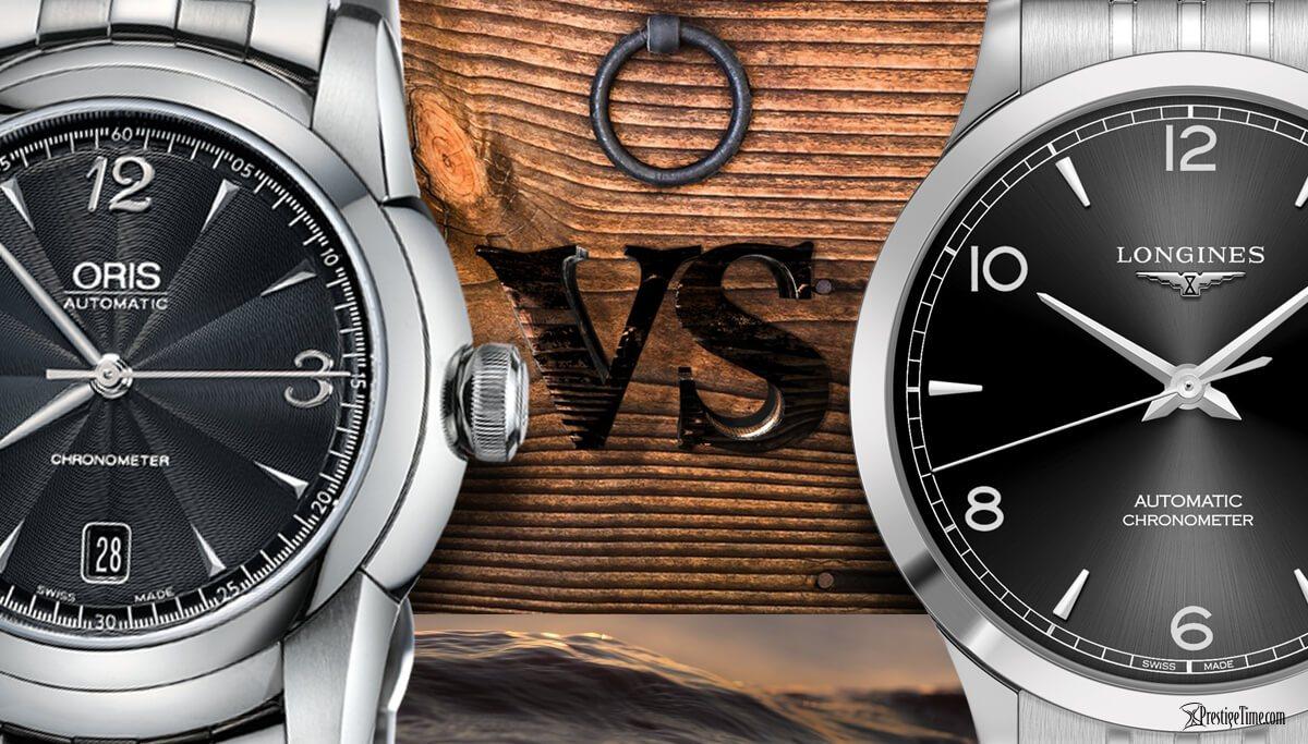 f2a86624225 Longines VS Oris Watches