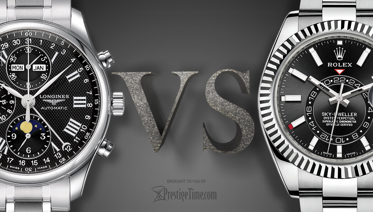 Longines VS Rolex: Which is Better?