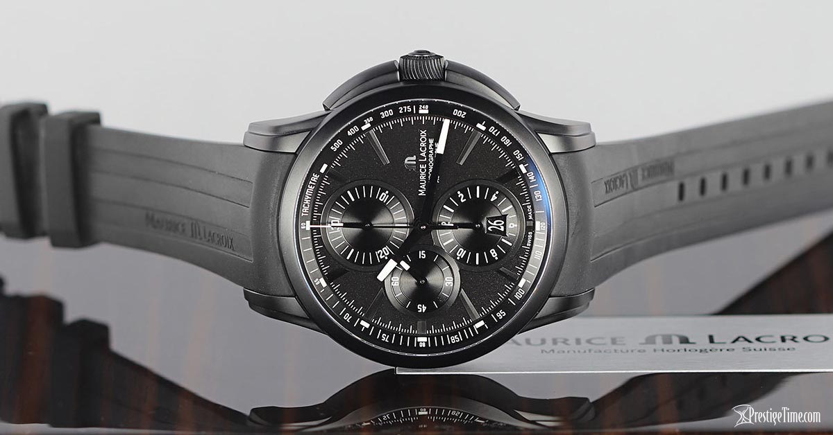 Maurice Lacroix Pontos Automatic Chronograph on box