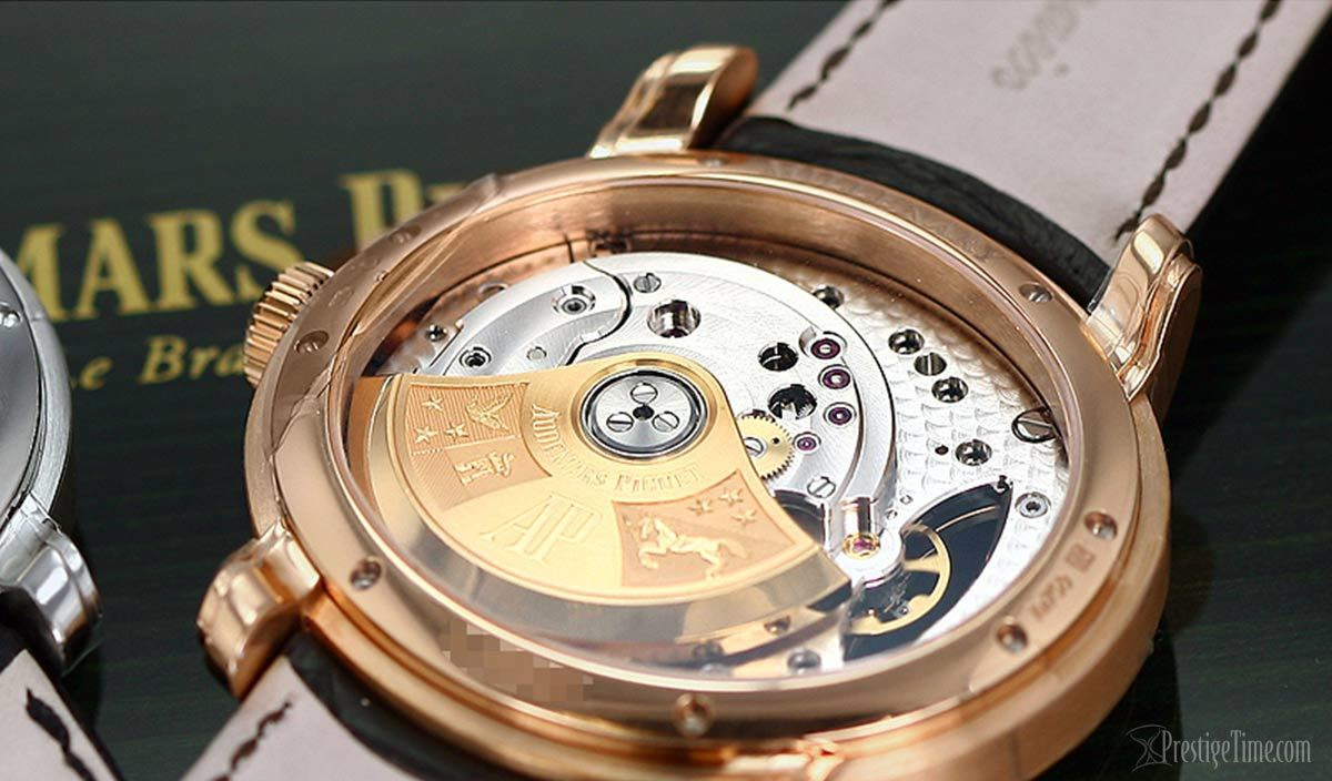 Mens Audemars Piguet Millenary Case back