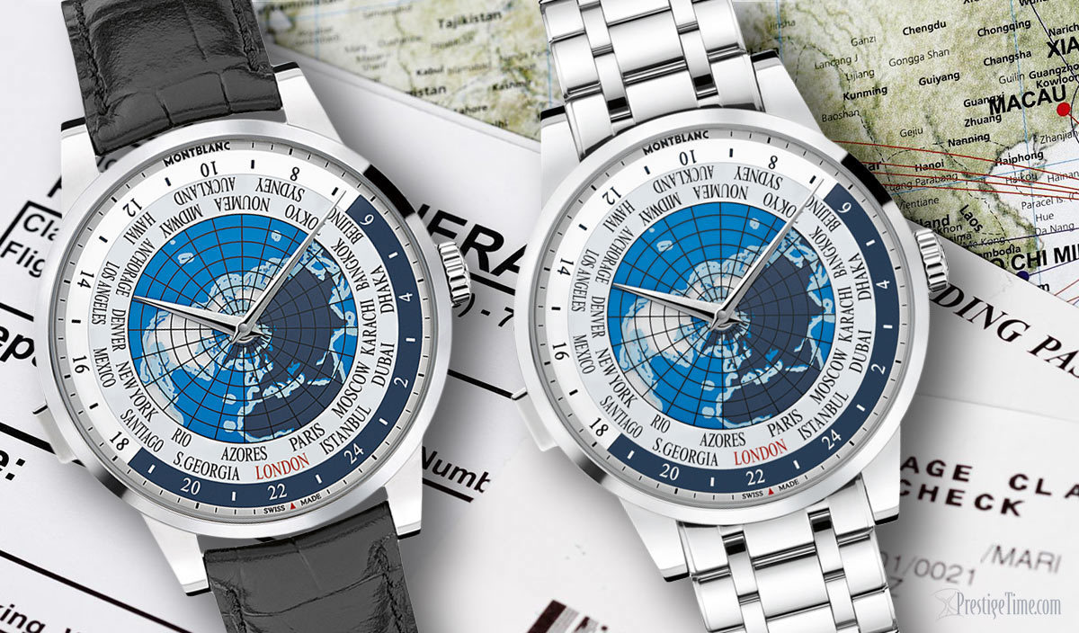 Montblanc World Time Watch