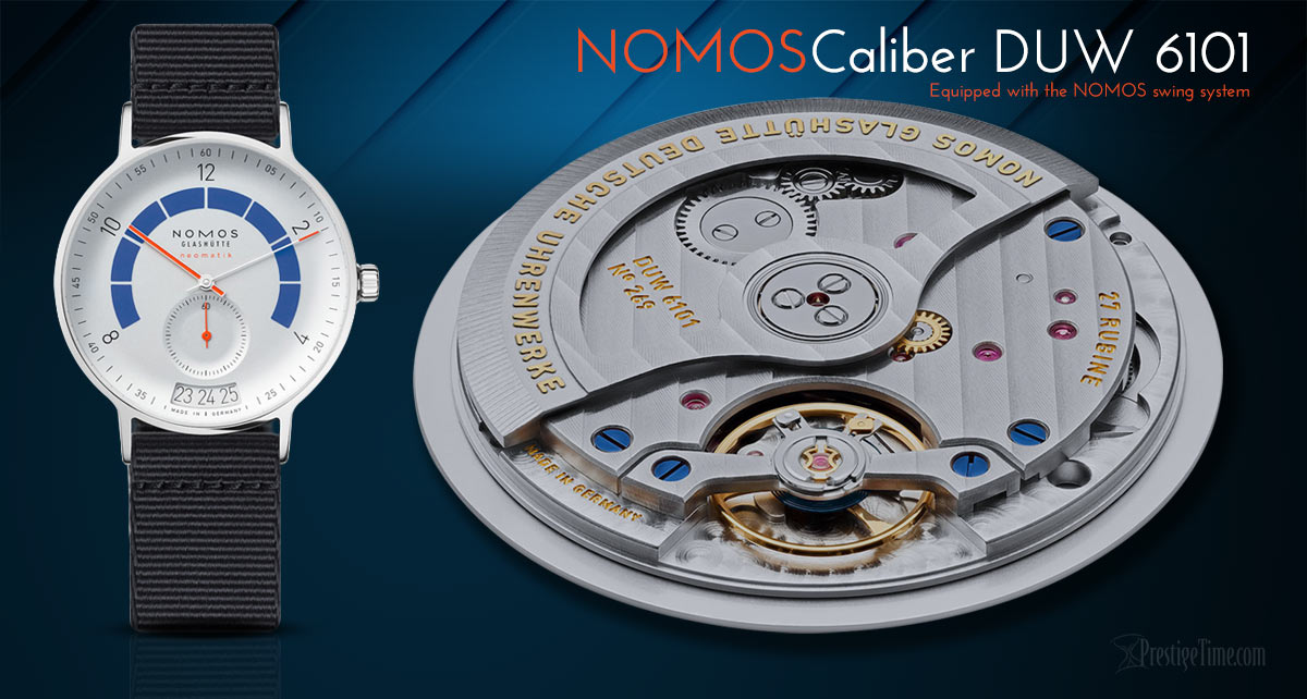 NOMOS DUW 6101 Automatic Movement