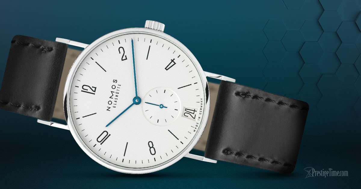 Nomos Glashutte Tangente 38 Datum Review