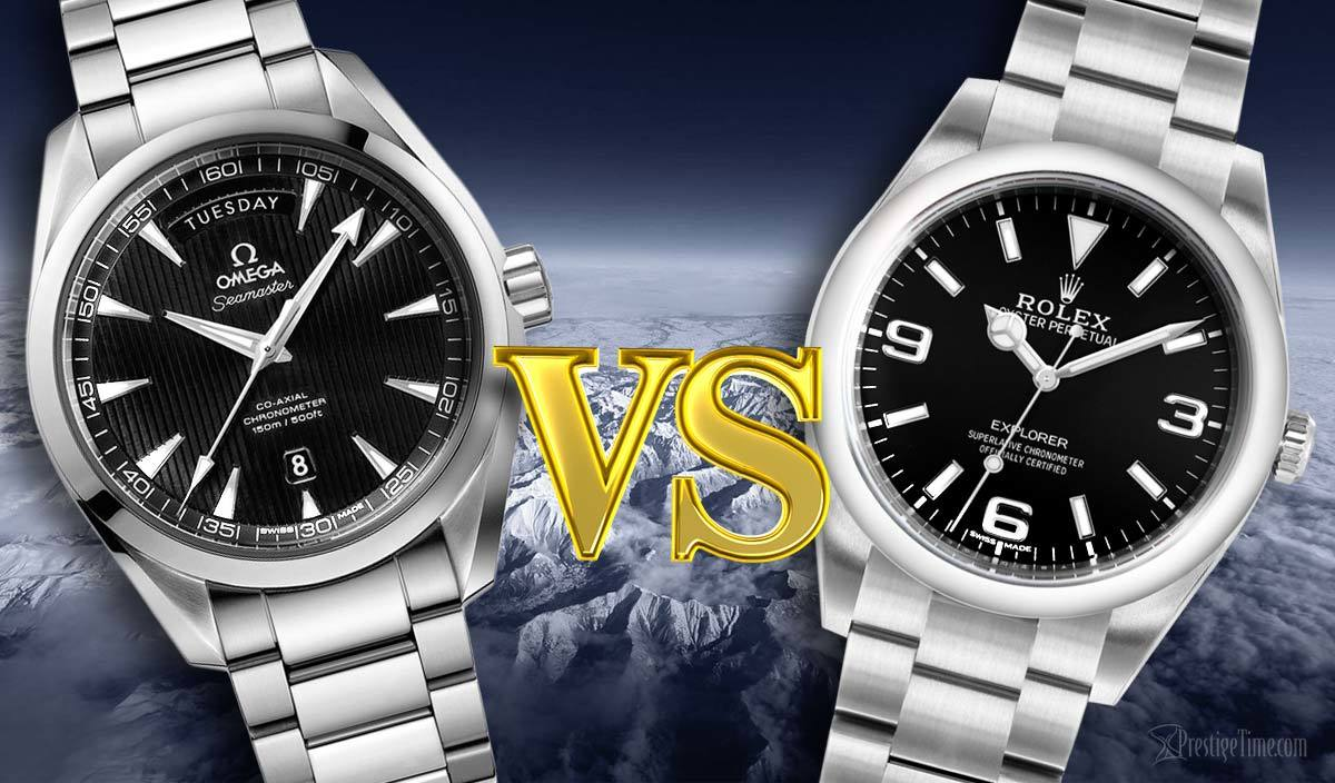 Omega aqua terra vs rolex explorer which is better for Jason statham rolex explorer
