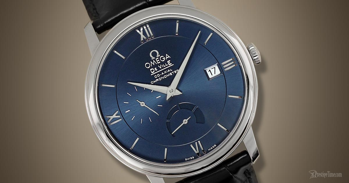 Omega Deville Prestige Power Reserve Co Axial Review