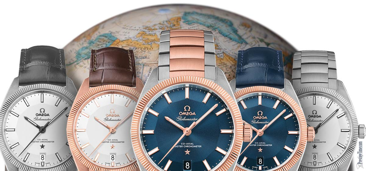 Omega Globe Master Collection