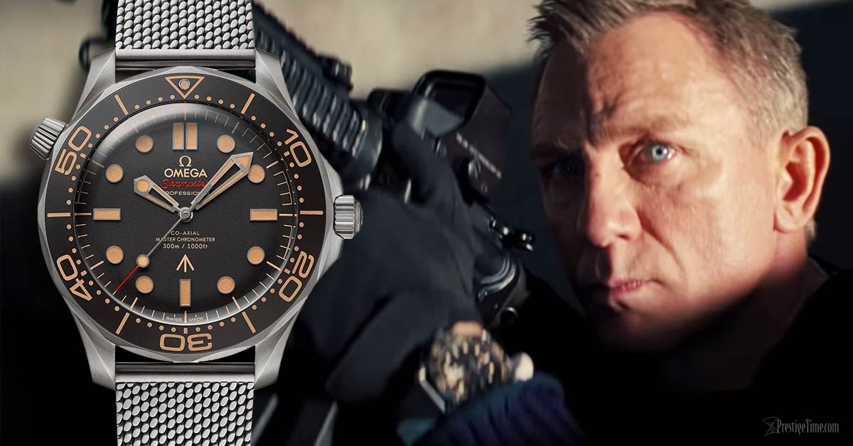 Titanium Omega Seamaster in 007 James Bond Edition Review