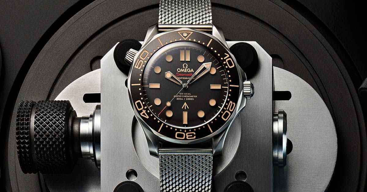 Omega Seamaster Diver 300M 007 James Bond Watch No Time To Die Review