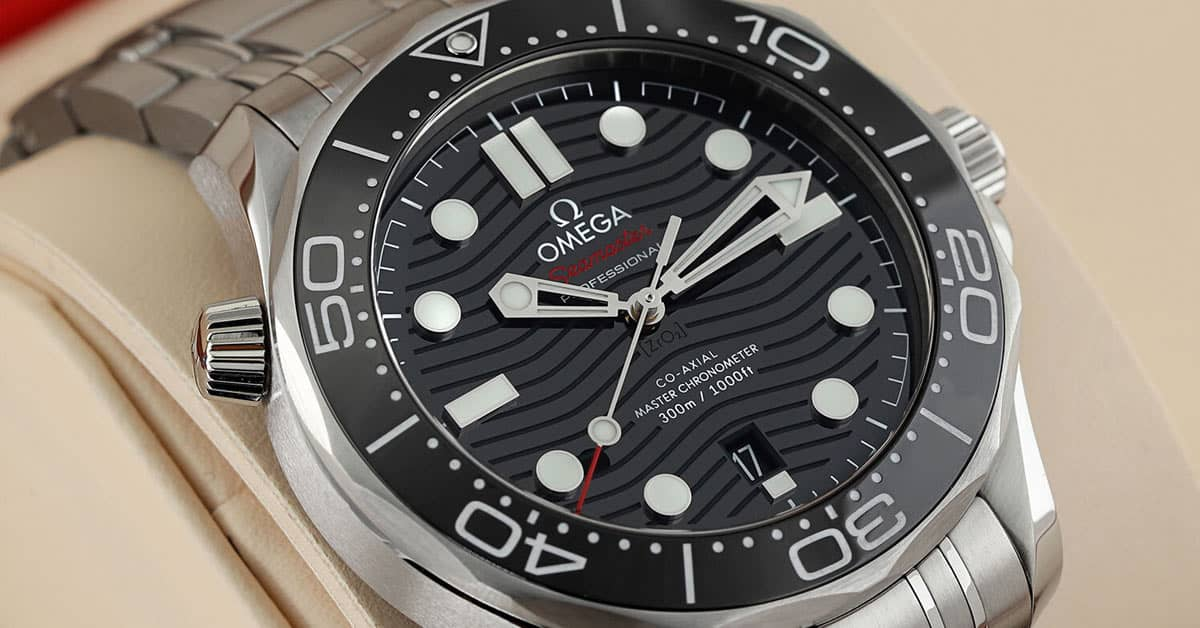 Omega Seamaster Diver 300m Co Axial Master Chronometer