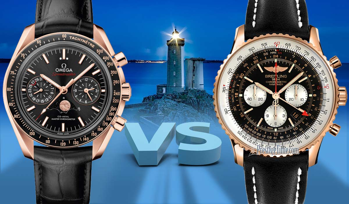 0ca298f1315 Ω Omega VS Breitling - Which is Best  - Expert Comparison