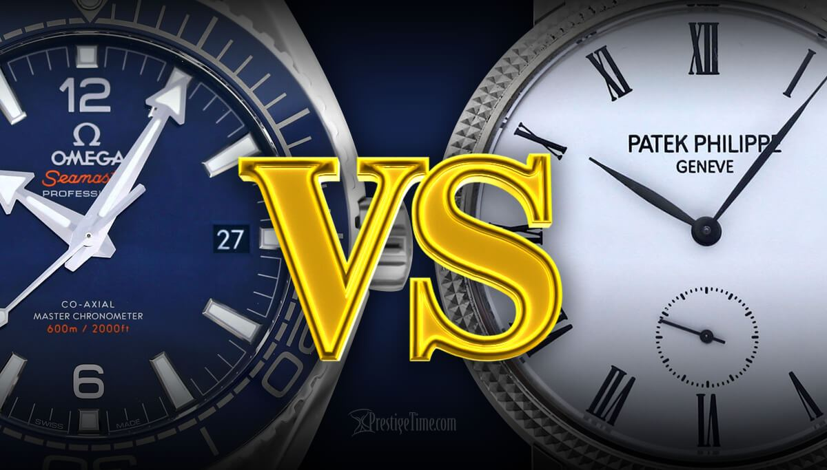 Omega VS Patek Philippe | Which is Best?